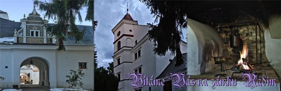Zámek Radim - zámek, který Vás překvapí