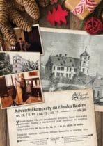 Adventní koncerty na zámku Radim